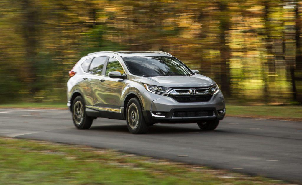 Honda CR-V is the best SUV to buy for passenger safety