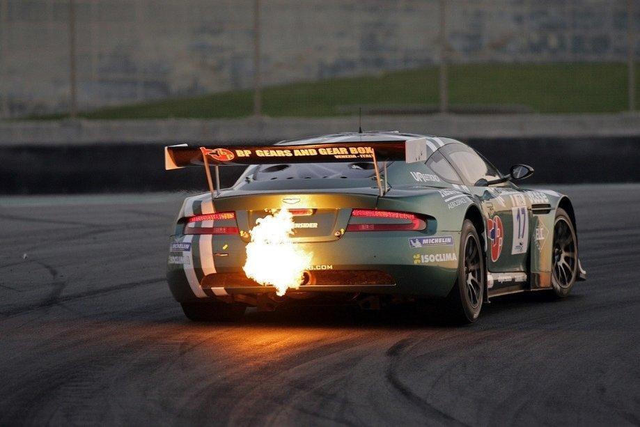 Chevy 350 backfire on deceleration
