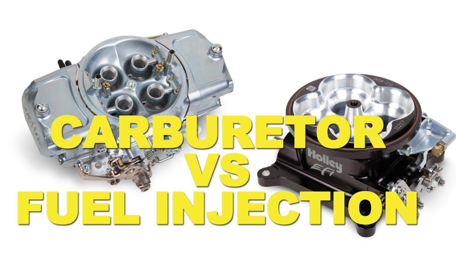 carburetor vs fuel injection