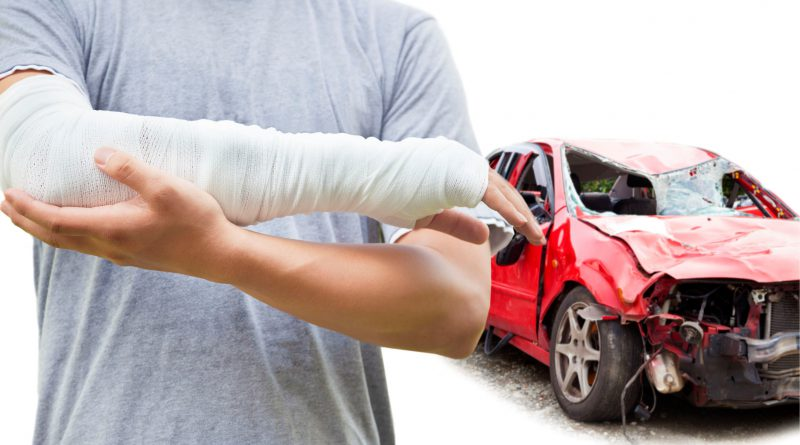 Common car crash injuries