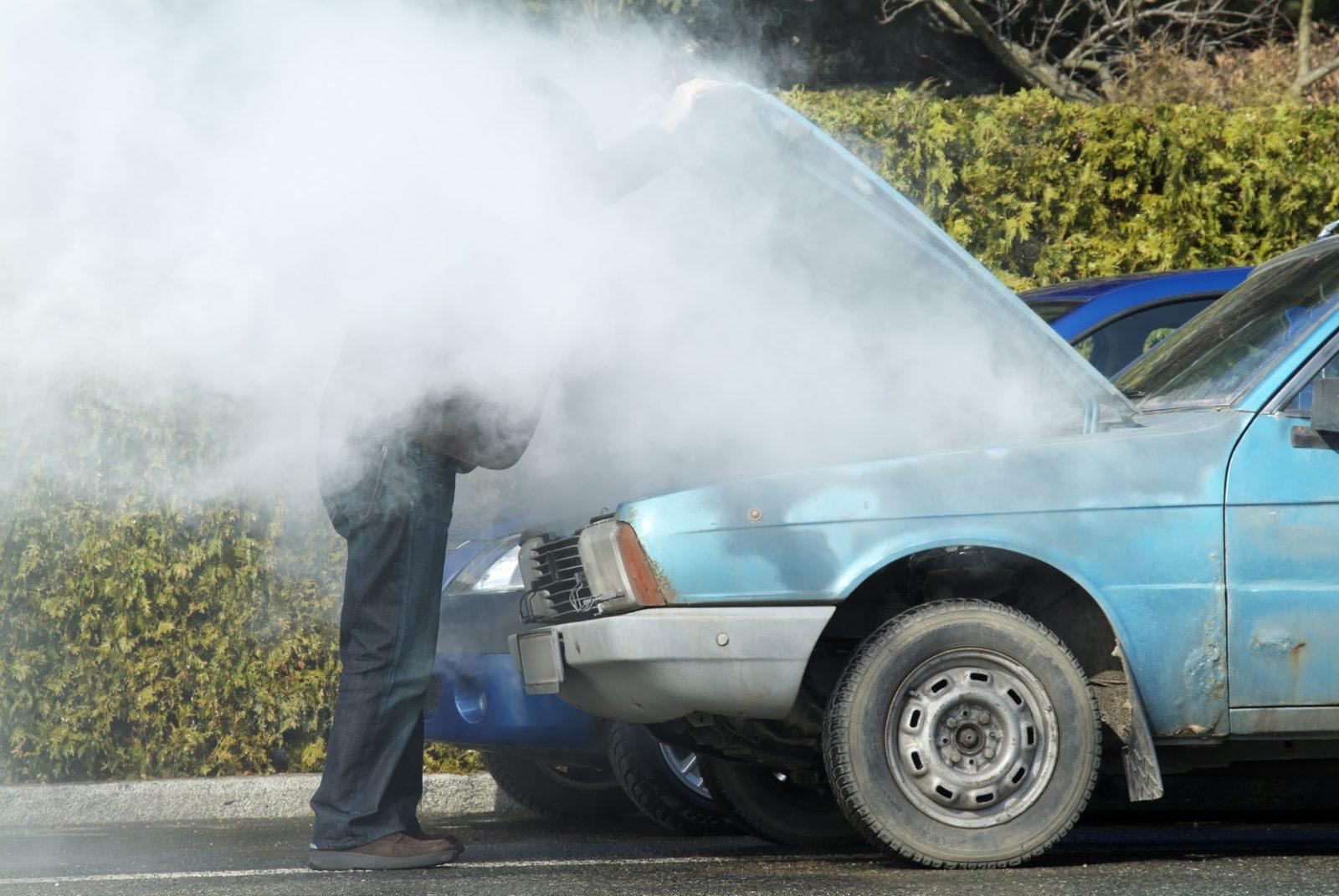 overheat engine