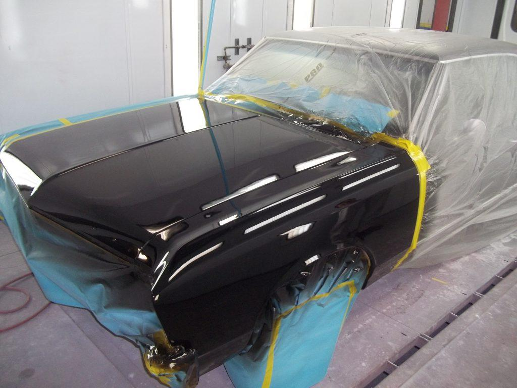Steps to change color of car