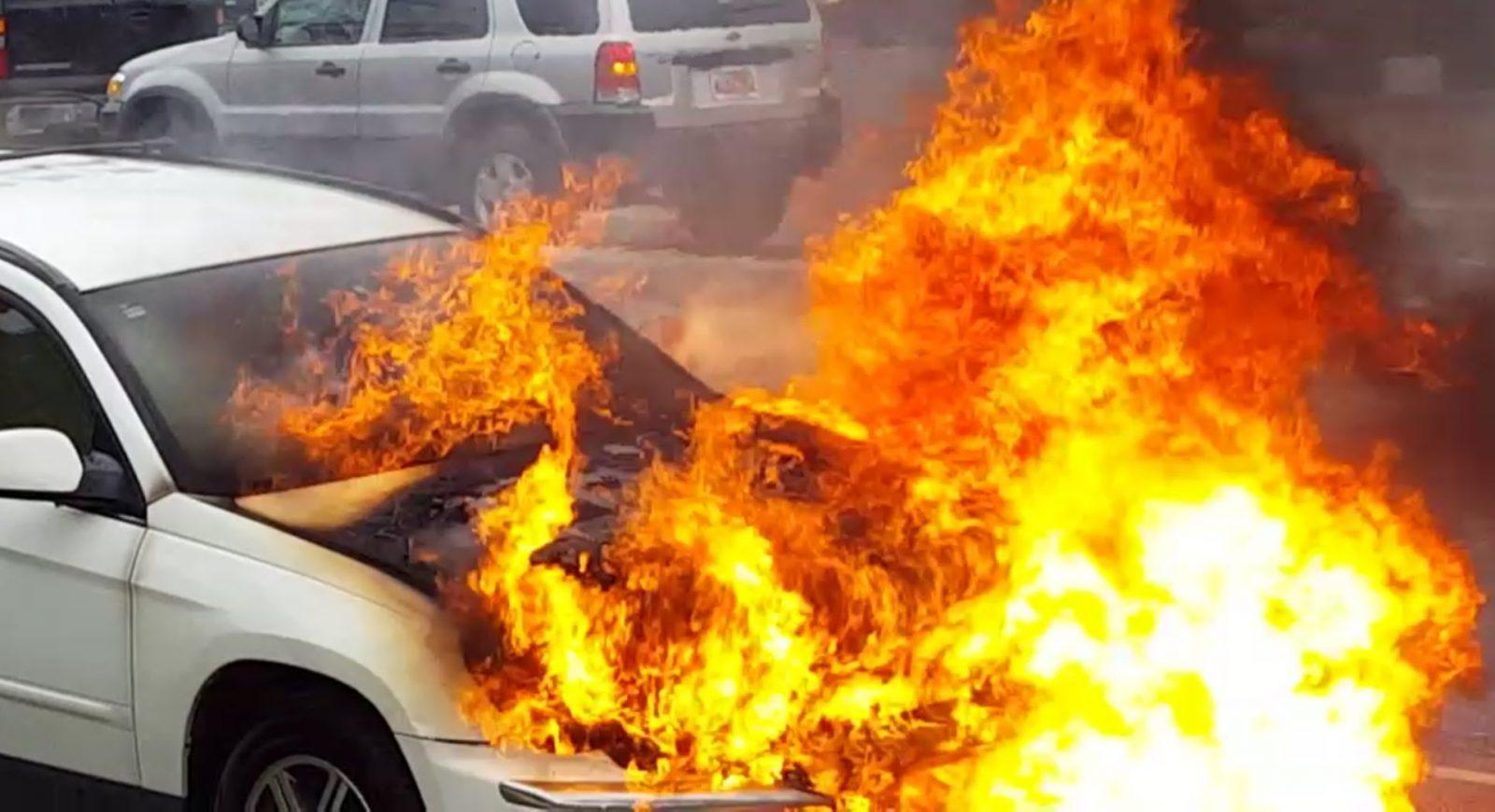 Can wiring cause fire in cars