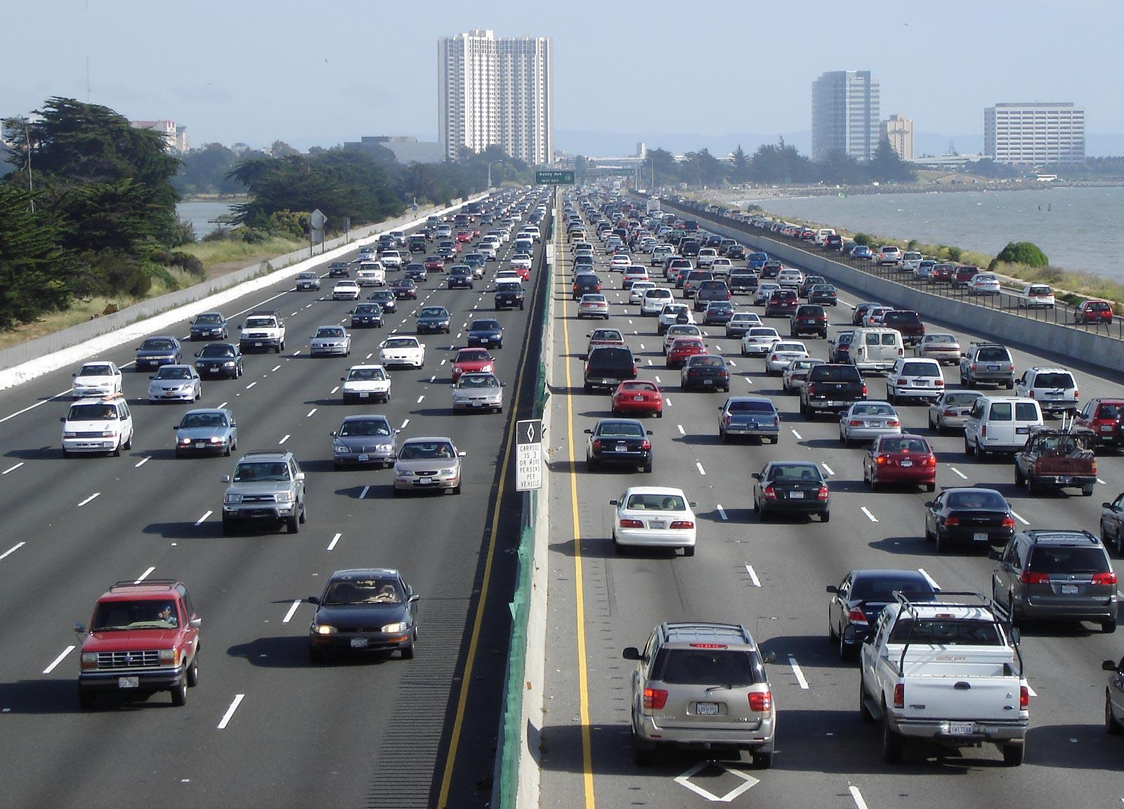multi lane road