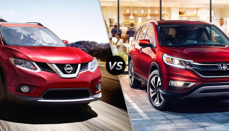 Nissan rogue vs honda crv car from japan for Which is better nissan rogue or honda crv