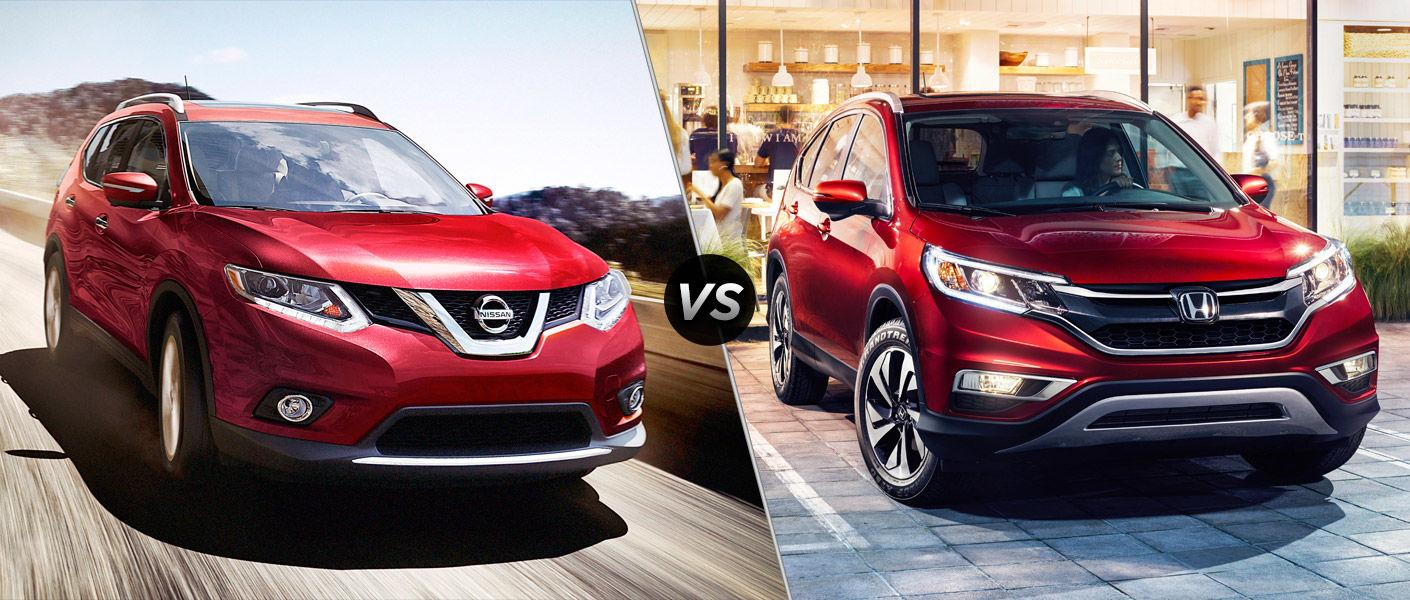 Nissan Rogue Vs Honda Crv