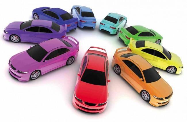 Car color and their maitainance