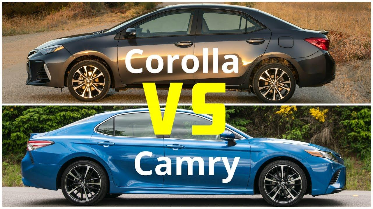 Corolla Vs Camry >> Toyota Camry Vs Corolla 8211 Which Sedan To Choose Now