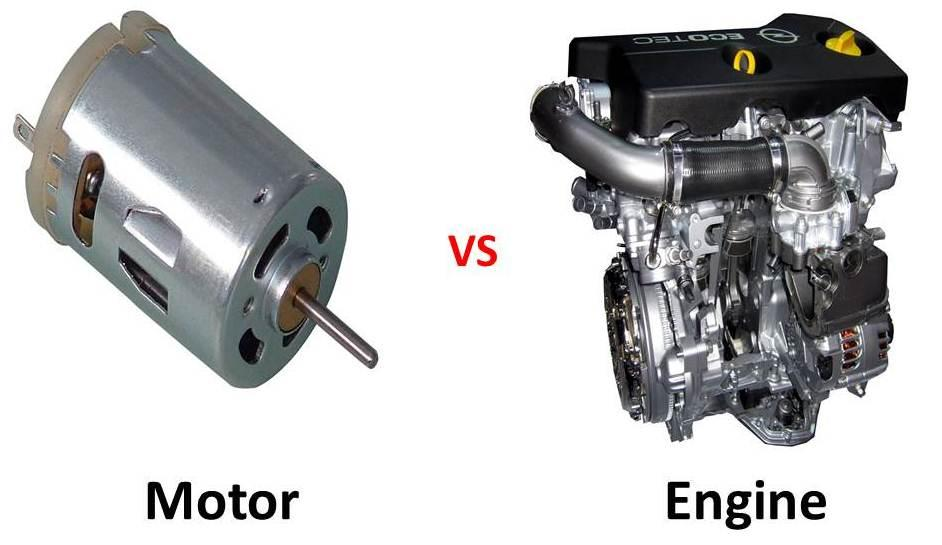 motor  engine  definitions  differences car  japan
