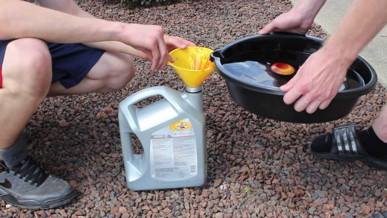 How To Dispose Of Old Car Oil