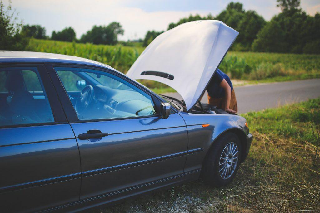 Causes of scraping noise while driving