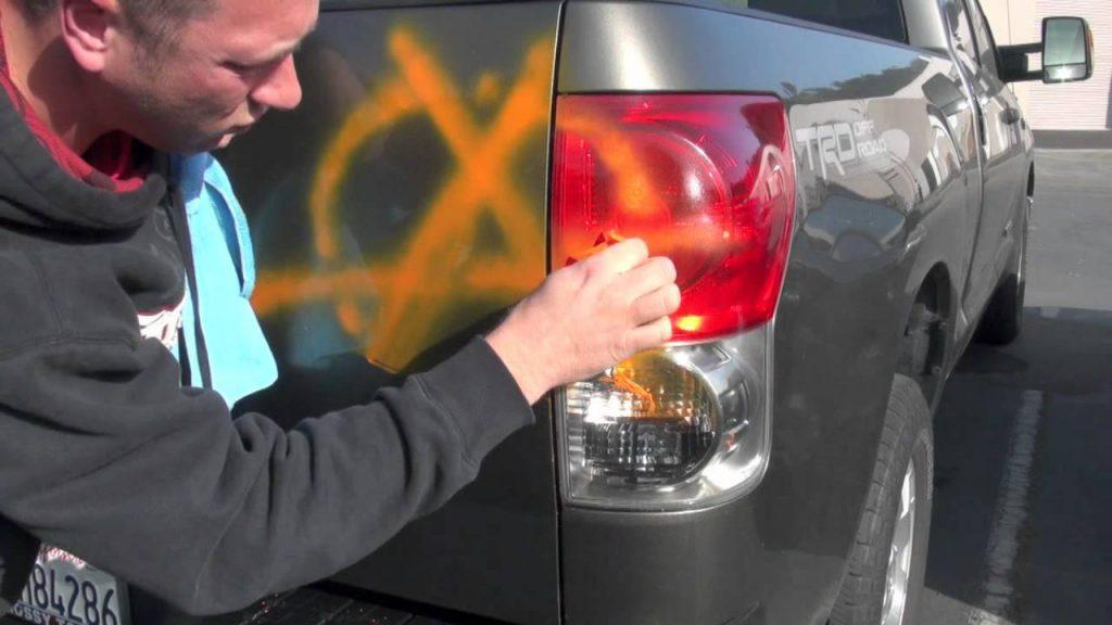 Remove Spray Paint From Car >> How Safe Is Goof Off On Car Paint