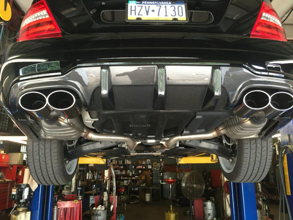 Effects of straight pipe exhaust