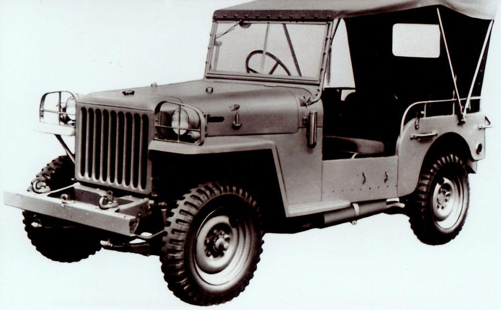 Find the history of Toyota land cruiser