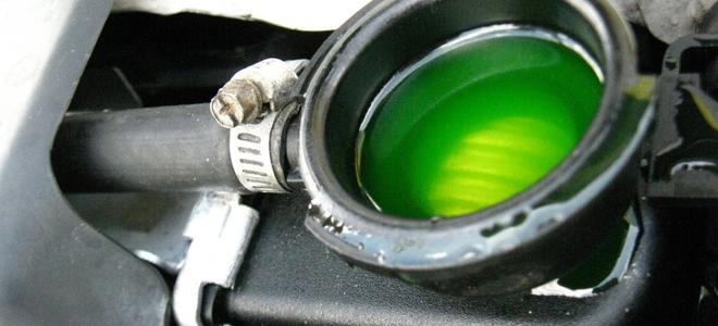 low coolant light comes on and off