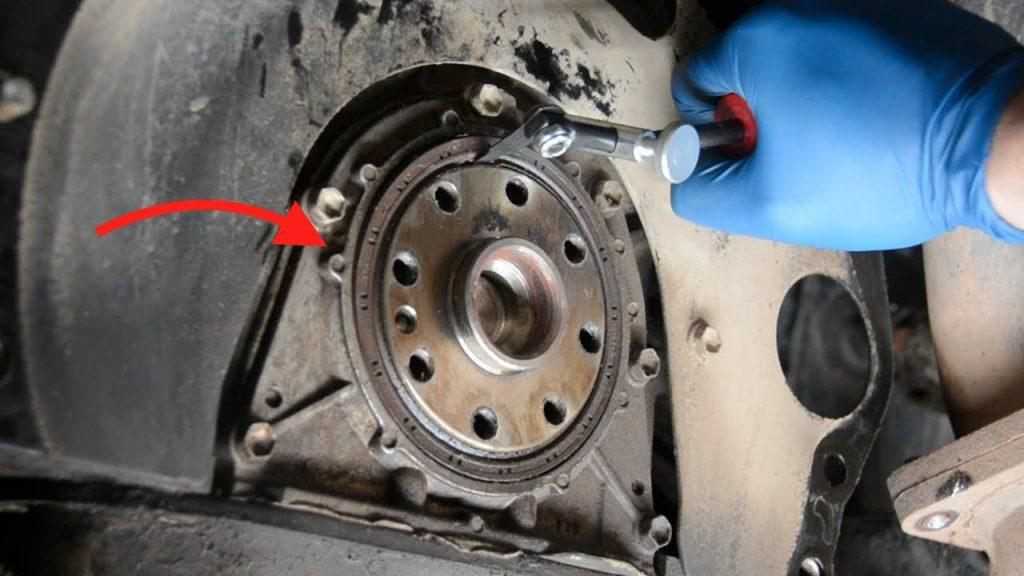 How To Replace Transmission >> How To Replace A Rear Main Seal Without Removing The