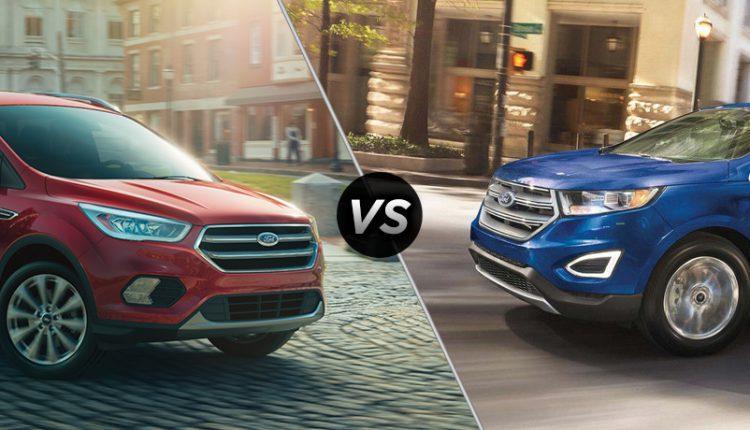 Ford Edge Vs Ford Escape