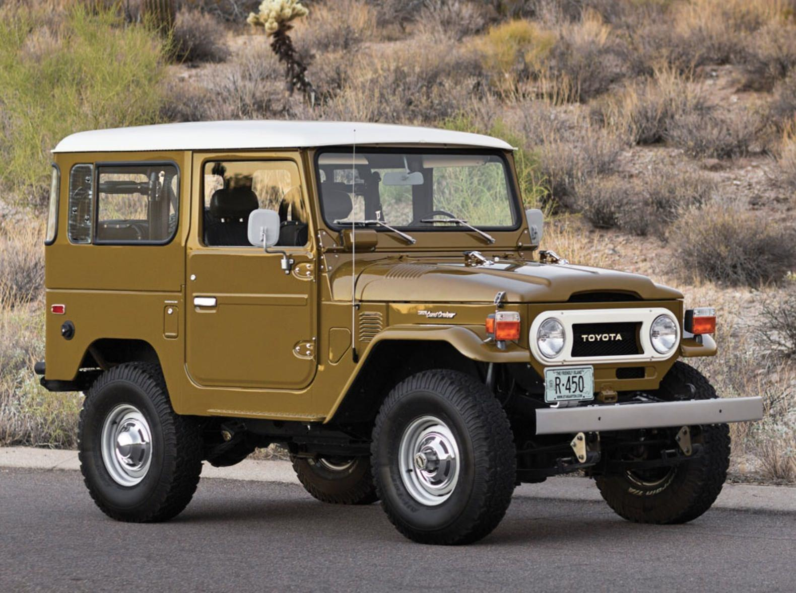 Begining History Of Toyota Land Cruiser