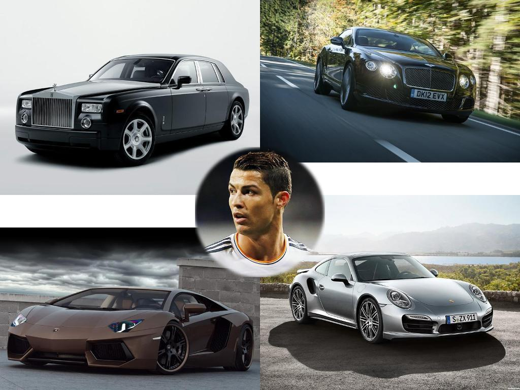 2018 Cristiano Ronaldo Cars Such A Luxury Collection That You Can