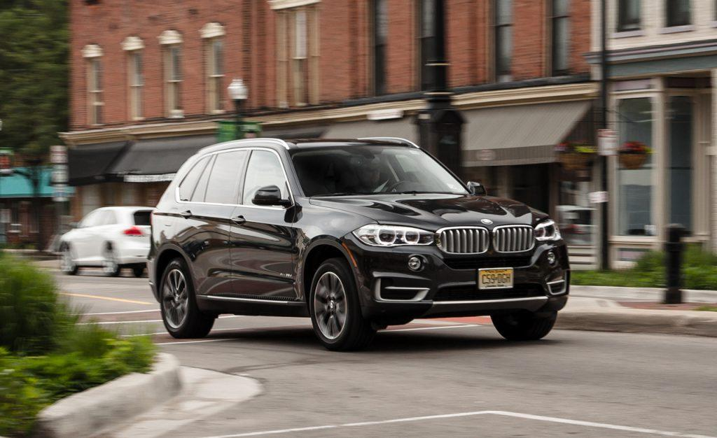 Exterior of the 2014 BMW X5