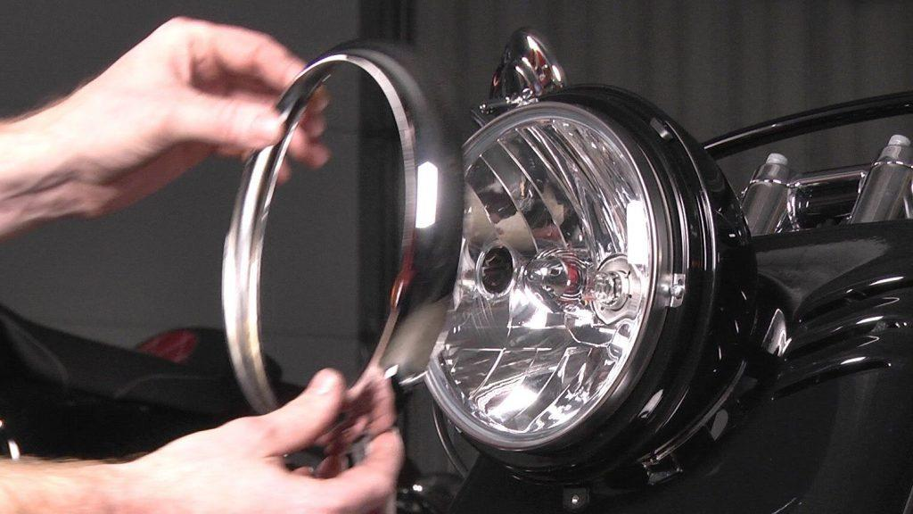 Answer to how to remove moisture from headlight