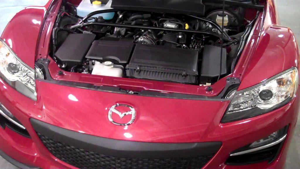 Mazda RX8 has a Rotary engine