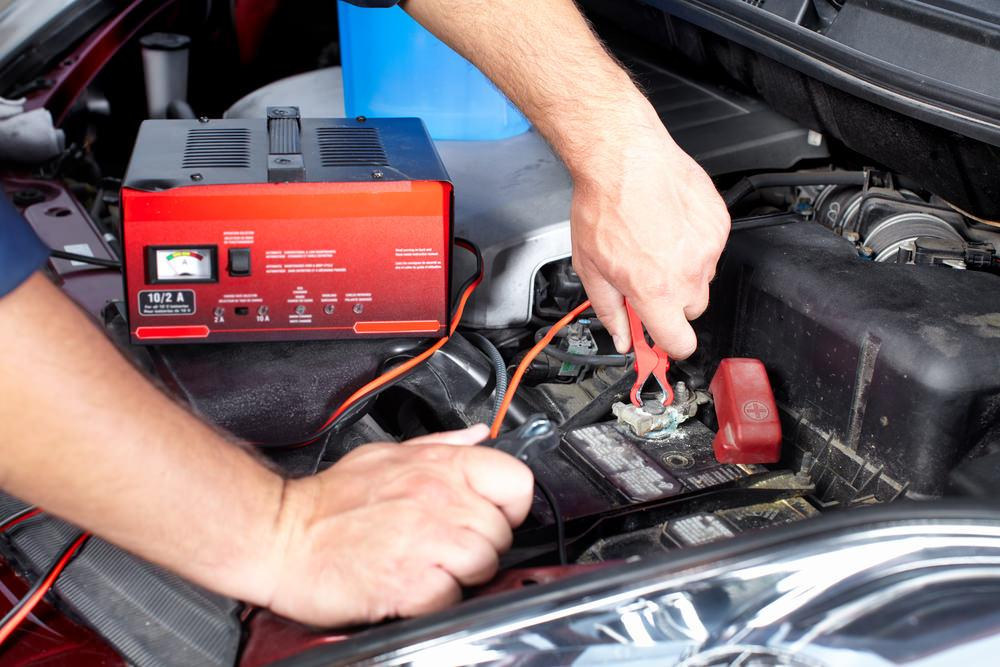Find the cause of car starter clicking