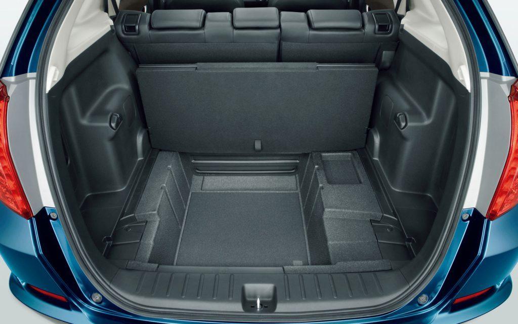 2008 Honda Fit Cargo Space