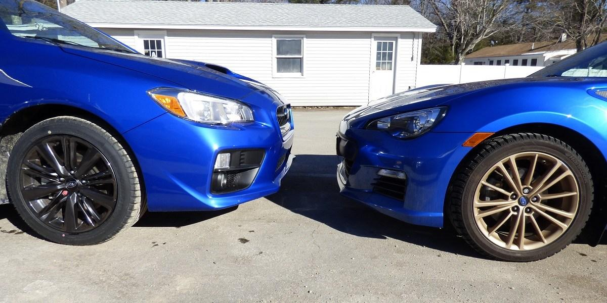Comparing Subaru Wrx Vs Brz
