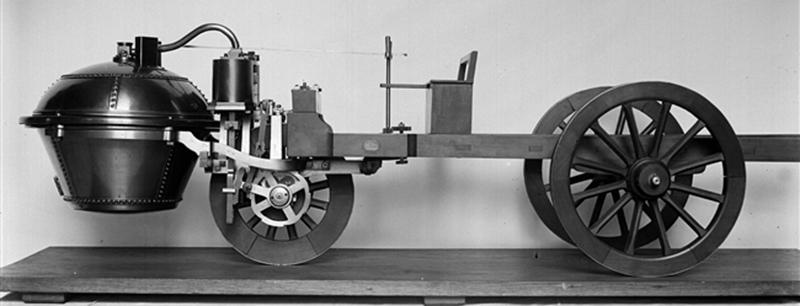 Automobiles in the First car in the world
