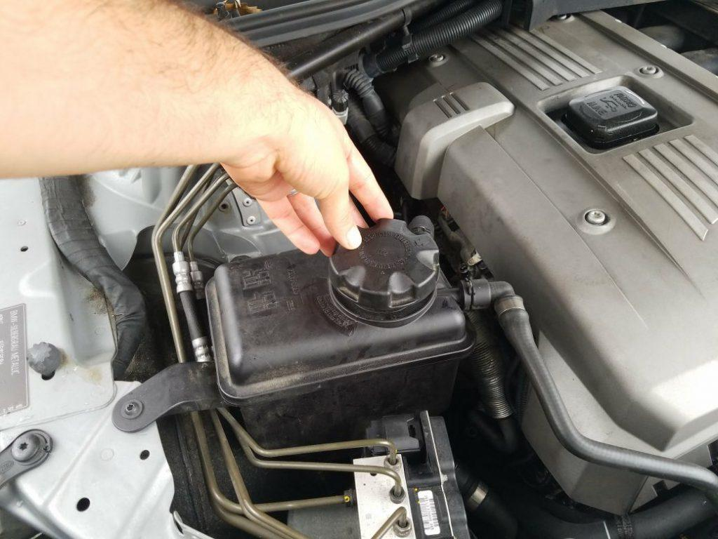 How to cope with low coolant in car