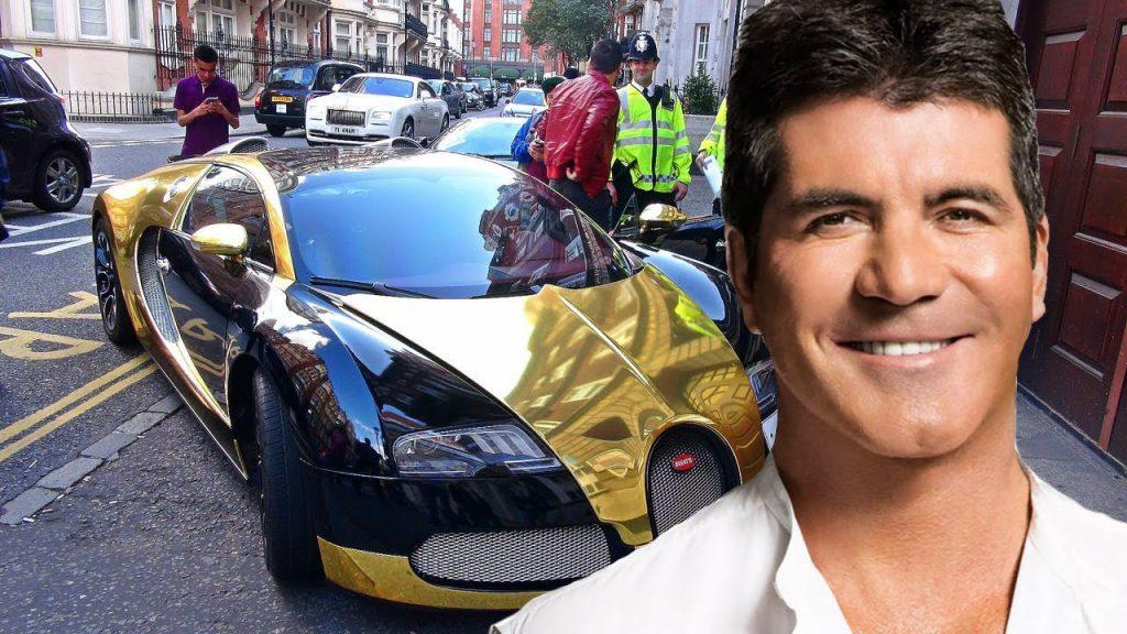 SImon Cowell and his car