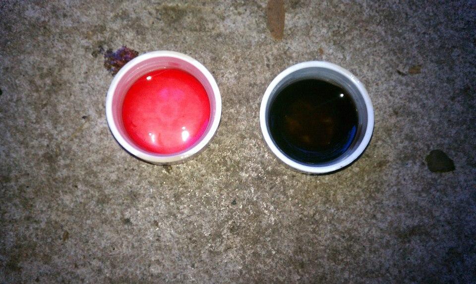 Black transmission fluid