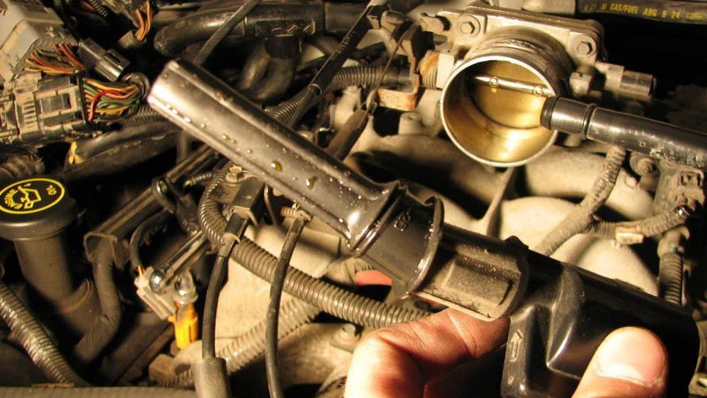 Common issue burned exhaust valve