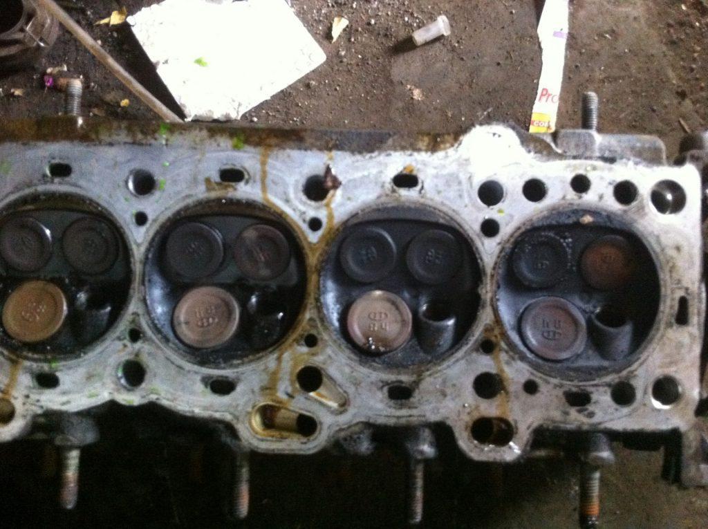 Ultimate revelation burned exhaust valve