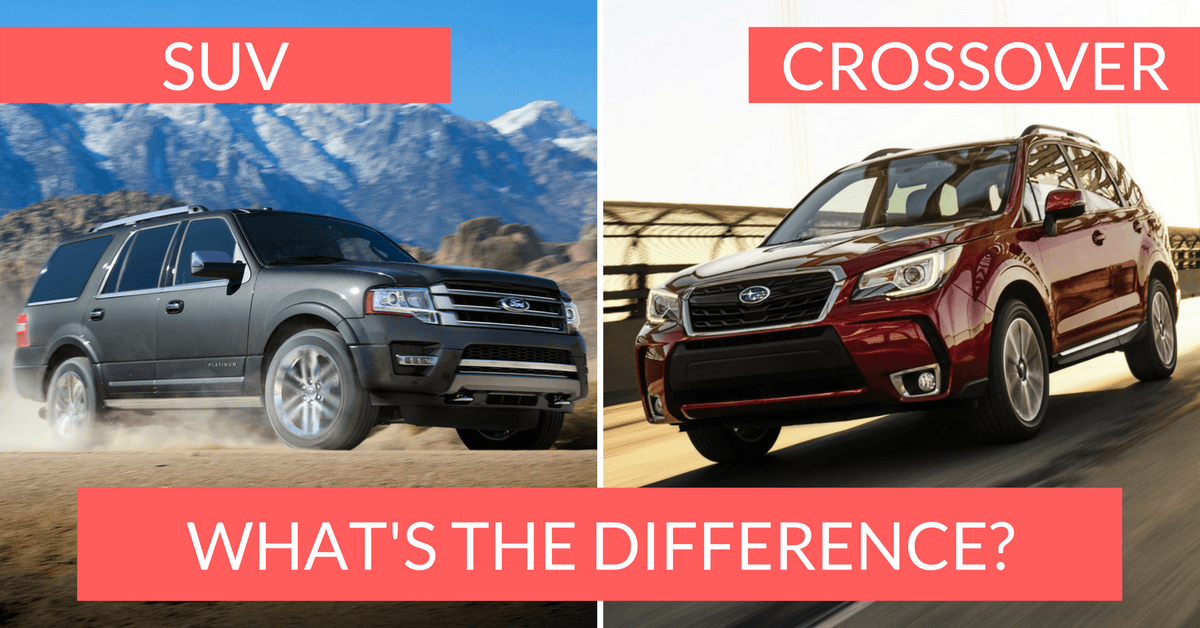 Crossover Vs Suv >> Crossover Vs Suv The Differences You Should Know About