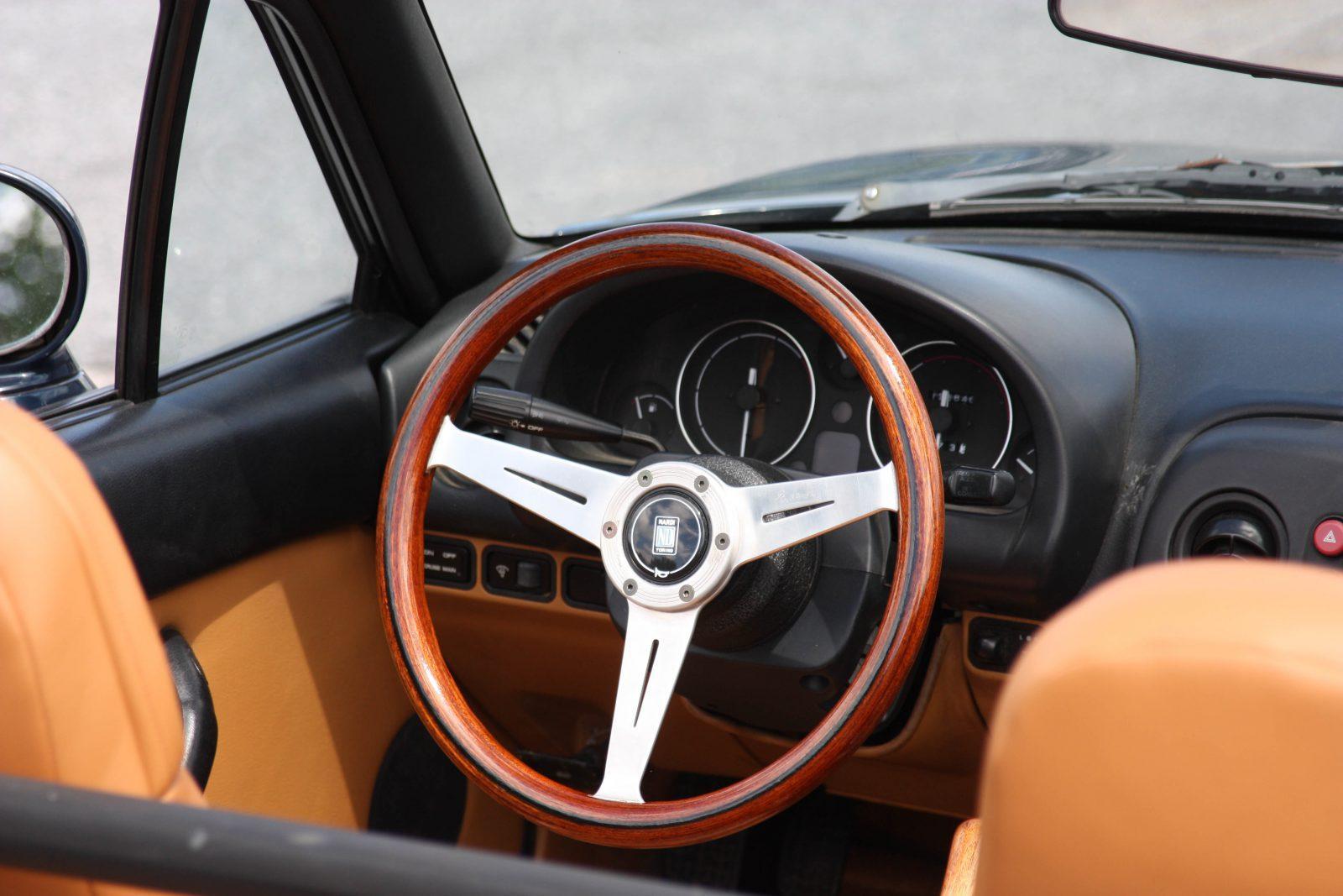 steering wheel slightly off center