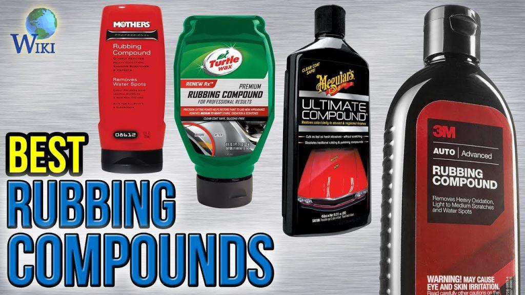 Rubbing compound vs polishing compound