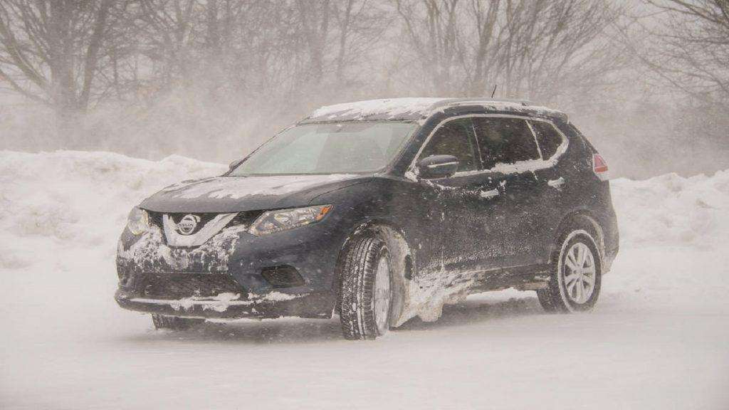 FWD vs AWD in snow