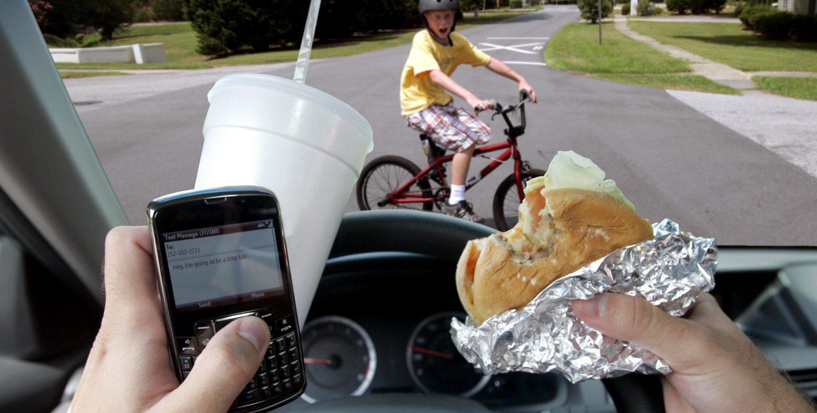 5 Reasons EATING WHILE DRIVING Is A Waste Of Time