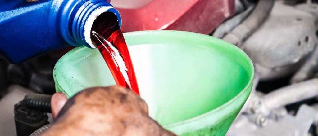 Is engine oil the same as transmission oil