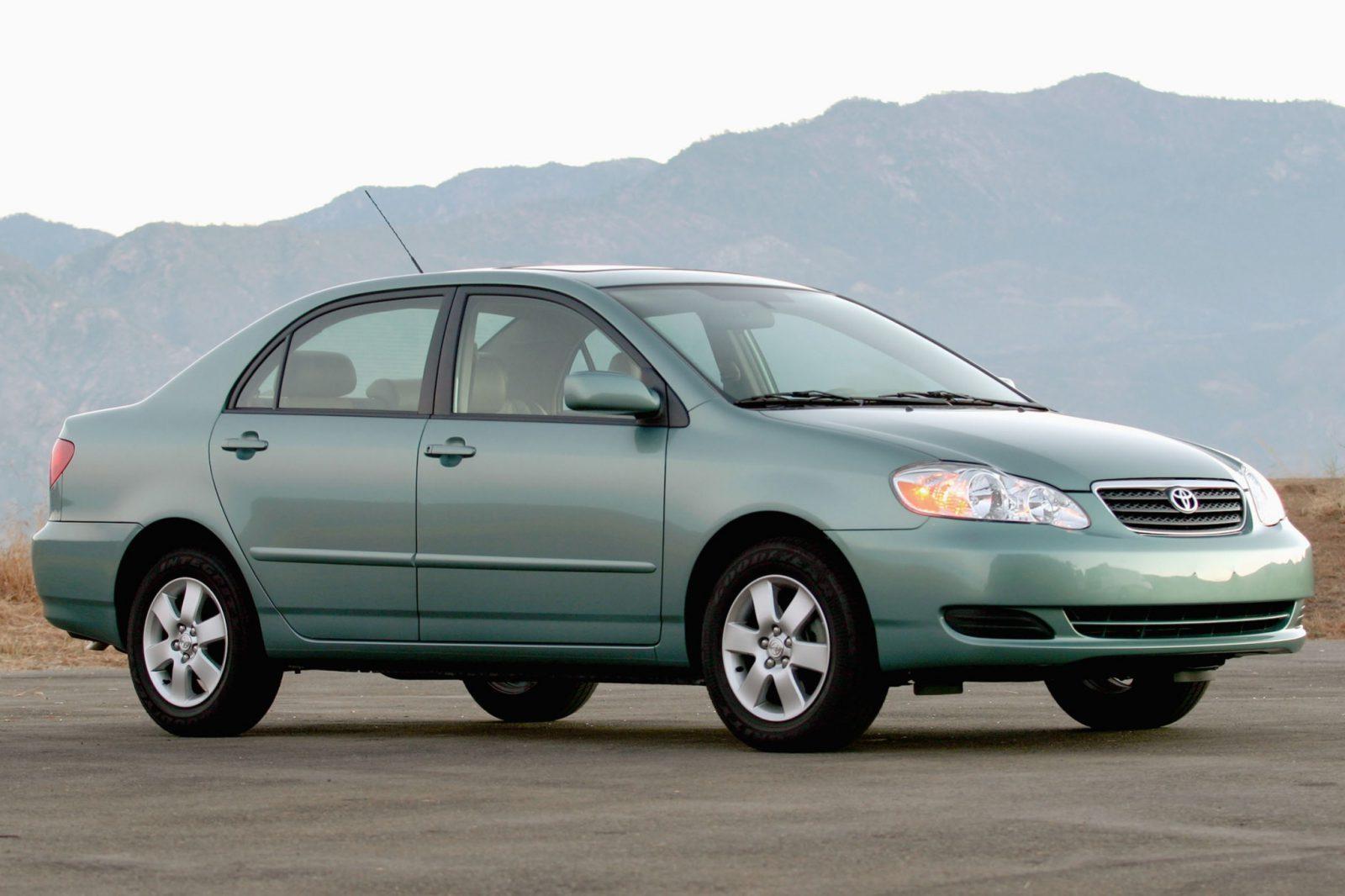 2007 toyota corolla s manual sedan