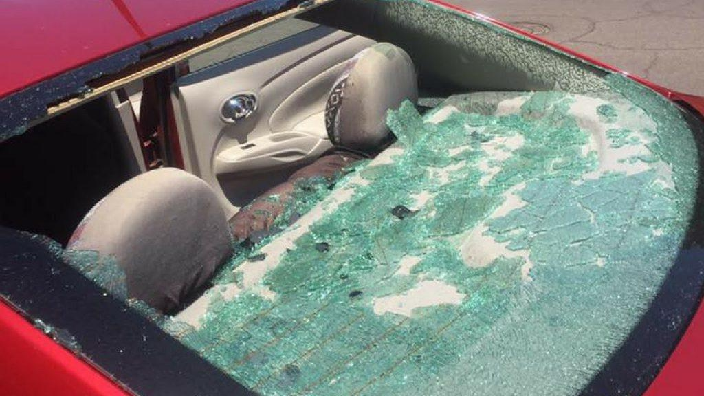 How to adjust transparent aluminum in car windshields?