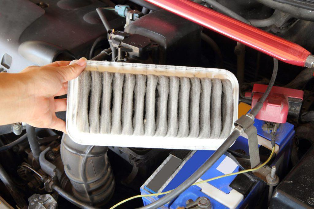 Learn how to change Dirty Car Air Filter