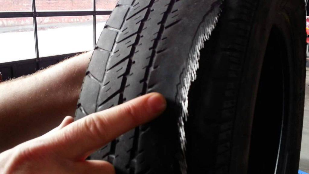 Need to know about tires wearing on the inside