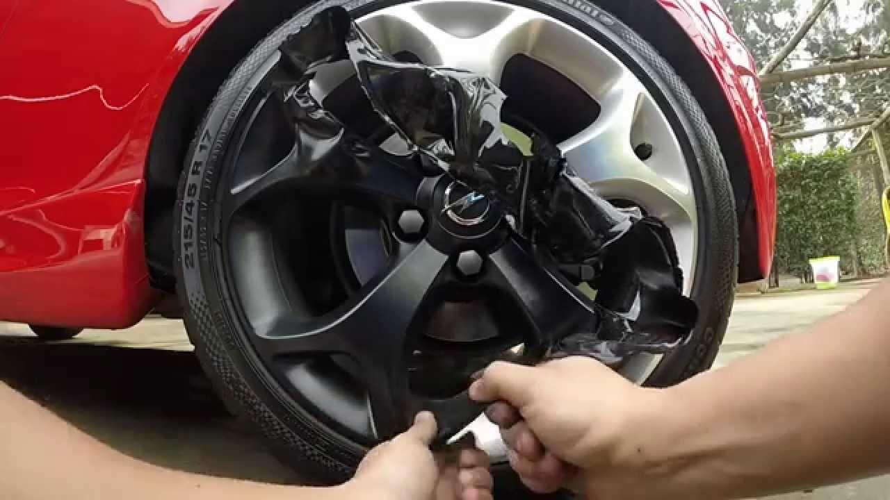 How To Remove Plasti Dip From Rims