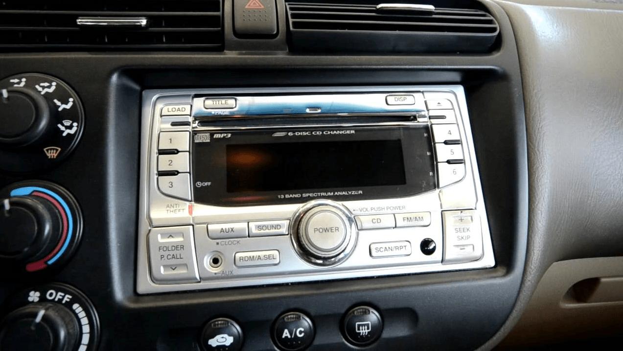 Honda Civic Radio Code >> How To Get Honda Civic Radio Code And Unlock The Radio