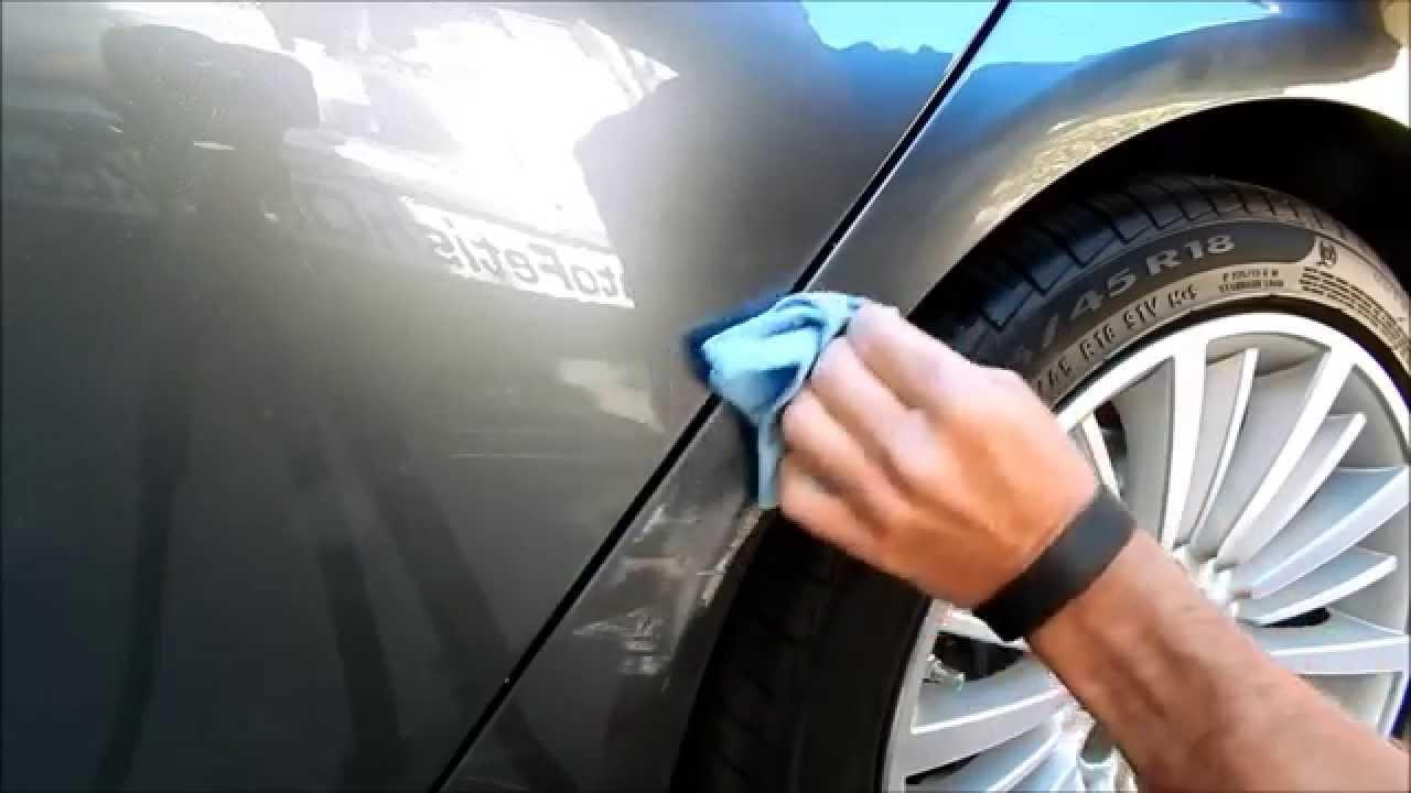 automotive touch up paint- the right way