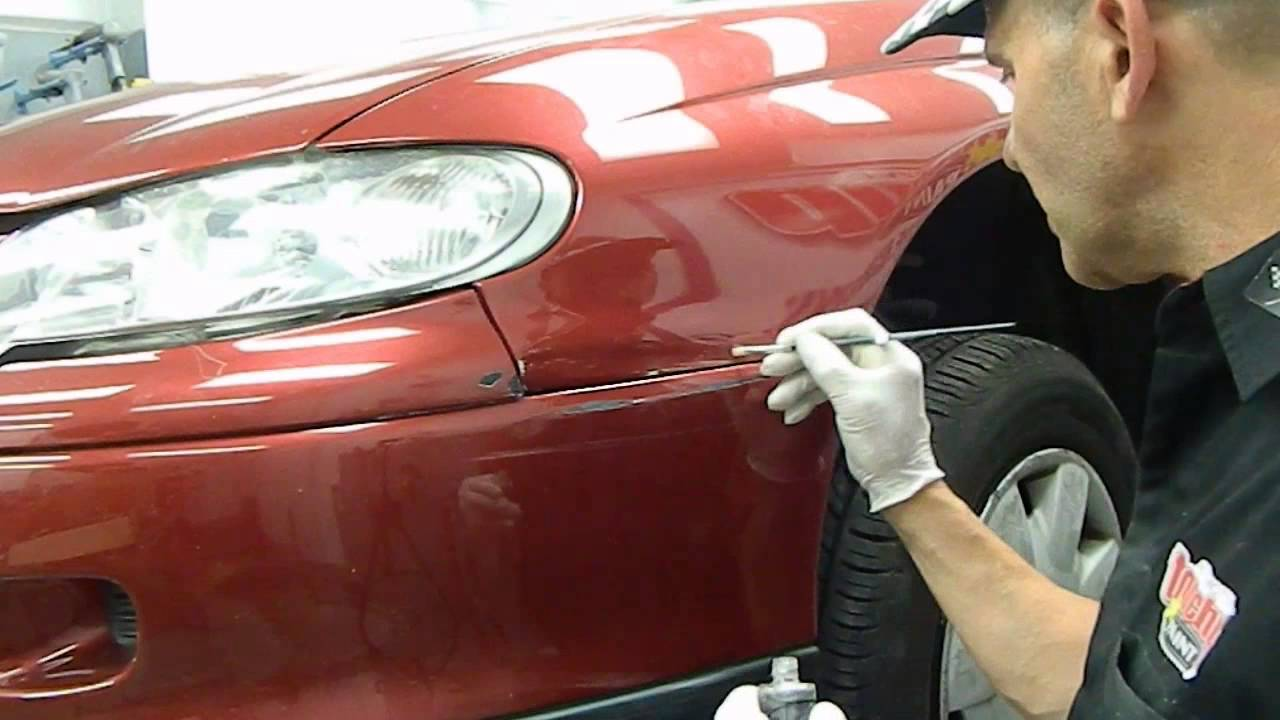 automotive touch up paint- right ways to do it