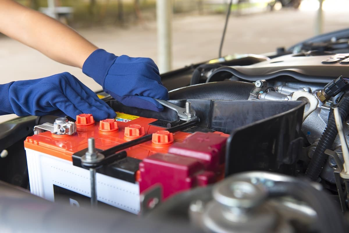 disconnect your car's battery- like this